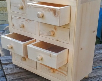apothecary cabinet,wood storage cabinet,wooden craft cabinet,unfinished apothecary cabinet,table top cabinet,herb cabinet storage, wood bins