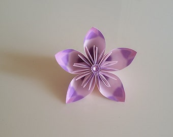 origami flower place card/kusudama flower