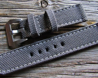 Canvas strap  custom made for panerai
