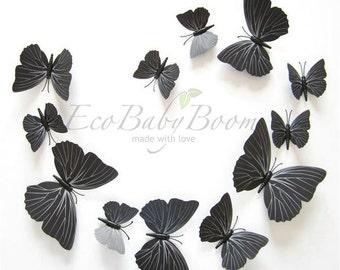 3D butterflies magnets and wall decoration wall art