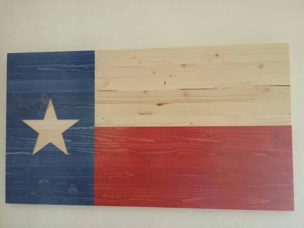 Texas Flag Wood Texas Flag Texas Decor State Of Texas Flag