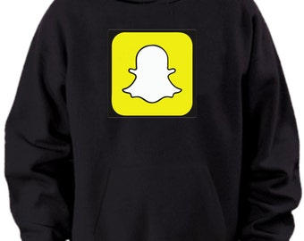 Customized Snapchat Snapcode Hoodie/READ THE DESCRIPTION