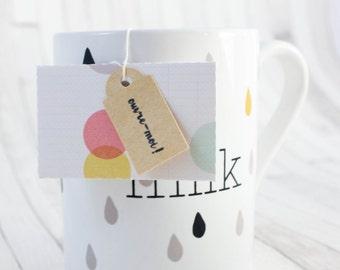 Teabag to message - peas