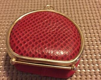 Vintage Neiman Marcus collapsable coin purse