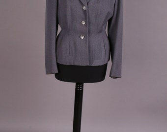 Grey 40s jacket, Gr. 36