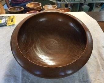 Red Oak Wooden Bowl