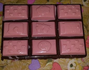 2 Valentine Chocolate bars