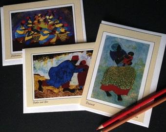 Nzalamba Artworks Notecards