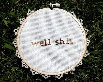 Subversive Cross Stitch - Well #!/@+