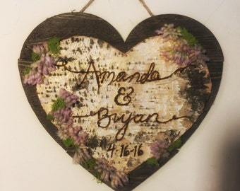 Heart Engagement Wedding Gift