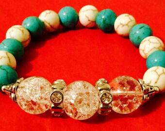 Turquoise Sparkle Bracelet