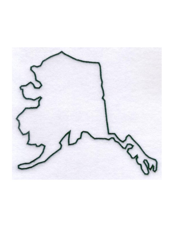 Alaska Stencil Made From 4 Ply Mat Board By