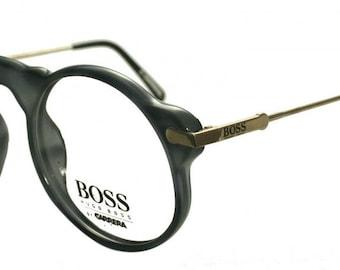 Hugo Boss Round Eye Vintage Designer Eyewear 5108