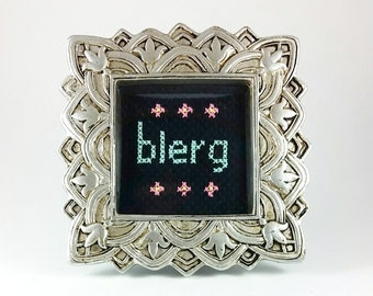30 Rock Cross Stitch - Blerg