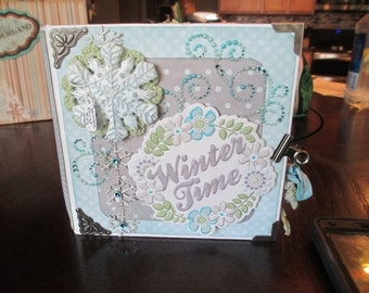 Winter Frost 6x6 mini album