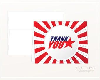 AMERICAN NINJA WARRIOR Thank You Cards
