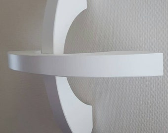 Orbit wall sconce Space Age  style design lamp