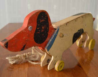 Dog Pull Toy by the Toy-Kraft Co. Studios