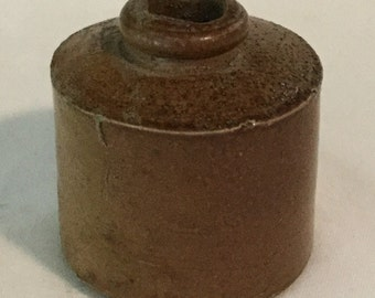 19th Century Salt Glaze Ink Well