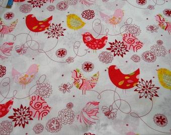Starling Bird Print  Alexander Henry Fabrics quilting cotton fat quarter