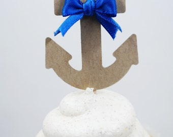 It's a boy baby Shower, Boy party, Anchor cupcakes, Sailor party, Bridal Shower