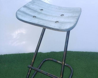 Upcycled Bar Stool #2