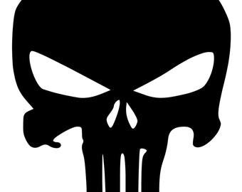 Marvel Comics The Punisher Vinyl Decal