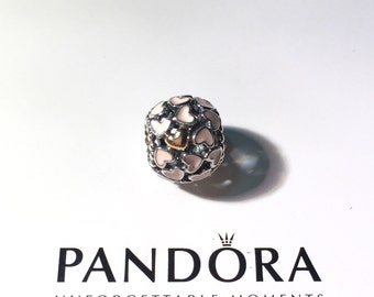 NEW Authentic PANDORA Abundance of Love Two Tone Charm (791283EN40)