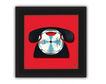 Stevie Wonder - I Just Called To Say I Love You - Vinyl Record Art