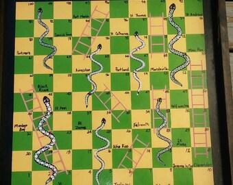 Snake and Ladder - custom made board game