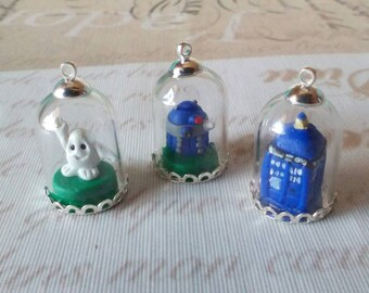 Doctor Who pendant dome
