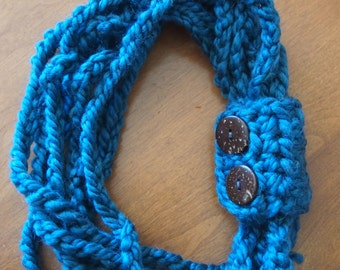 Mommy & Me Chain Link Scarf