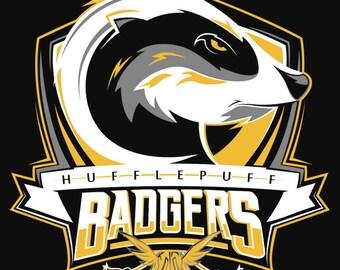 Harry Potter Hufflepuff Quidditch - Hufflepuff Badgers Shirt