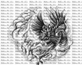 Justin Bieber's Eagle Tattoo Design