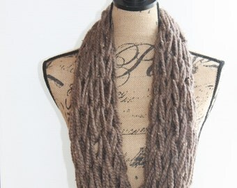 Arm Woven Infinity Scarf