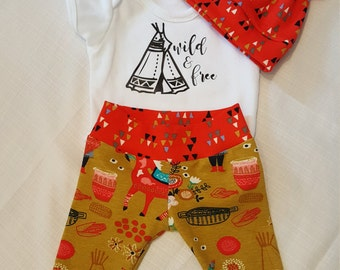 Baby Boy Outfit Size 0-3 months (Other sizes available)
