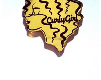 Curly Girl Cabochon