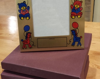 Custom Engraved Baby Picture Frame