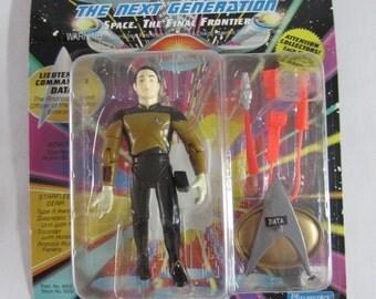 Vintage 1992 Star Trek The Next Generation Data Figure