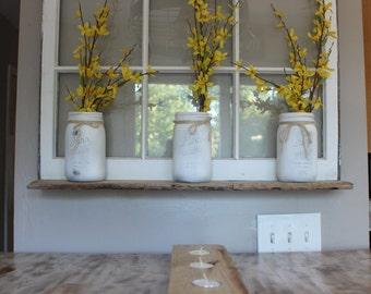 Recycled Window shelf