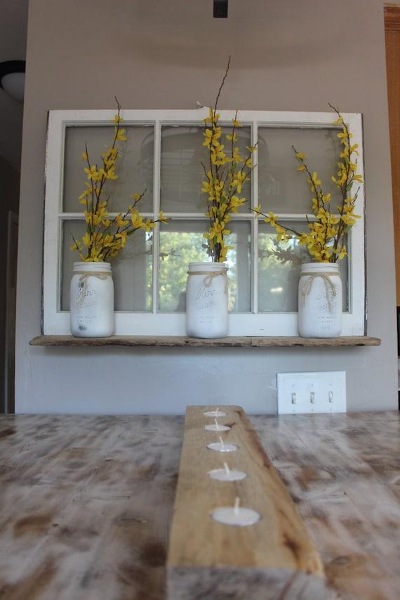 Recycled window shelf for Recycled window frames
