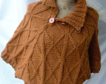 Knitted Alpaca blouse/shrug