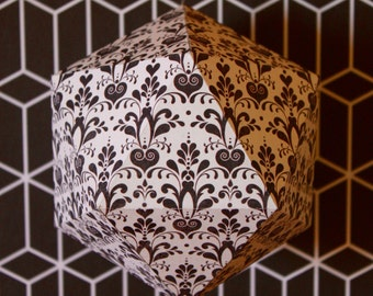 Ball geometric paper - reasons black and white