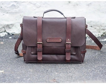 Rocky briefcase, leather briefcase, mens briefcase, leather messenger bag, laptop bag, leather handbag, leather suitcase, leather satchel