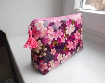 """Make-up bag """"cherry blossom pink"""""""