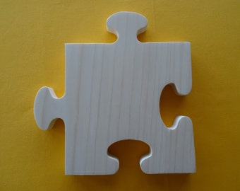 bottom of dish, cutting board made of pine wood natural square puzzle