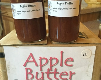 Apple Butter, Old Amish Recipe