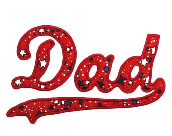 Fathers Day Dad Tail Embroidery Designs