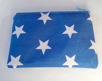 Star coin purse, Coin pouch, zip wallet