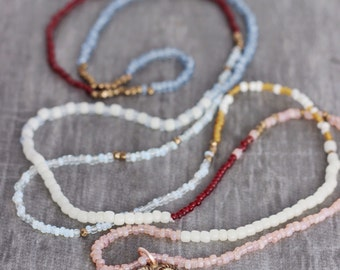 Charmed-Vintage Seed Bead Necklace
